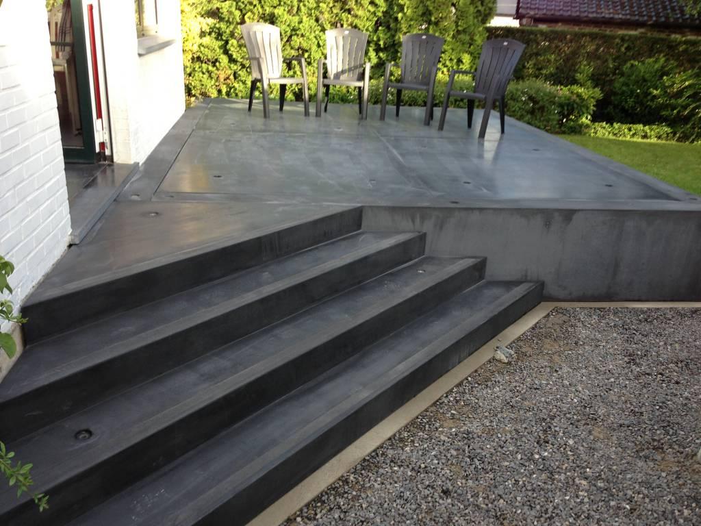 Awesome Escalier Et Terrasse En Béton Préfabriqué