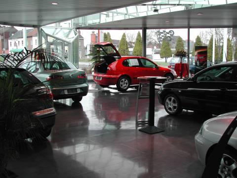 Charleroi Center, Garage Seat, Jumet