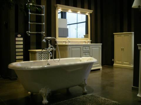 Béton lissé pour salles de bain