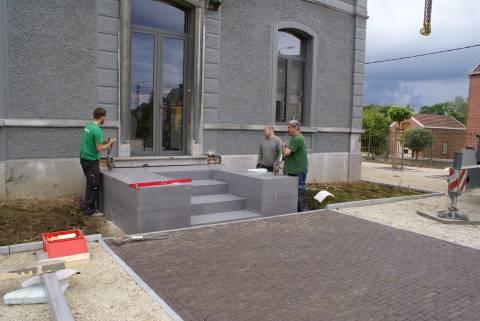 Escalier en béton préfabriqué